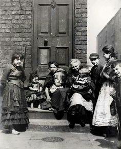 Gerard st area, liverpool  1895