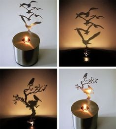 shadow lamp -- Crafty finds for your inspiration!