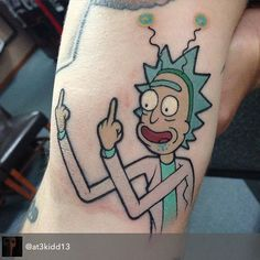 You ink it, we'll share it. #rickandmorty 100 years.