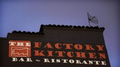 Ricardo DeAratanha / Los Angeles Times The Factory Kitchen is located in a minimally redecorated loft space in the downtown arts district.