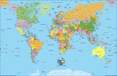 World Map Pdf In English