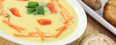 Cholesterin - Exotische Paprika-Kokossuppe