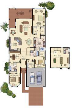 BAHAMA/505 Floor Plan