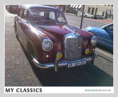 1958 Mercedes-Benz 220 Ponton classic car