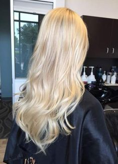 Super hair blonde baylage hairstyles ideas - All For Hair Cutes Blonde Hair Looks, Blonde Hair Shades, Light Blonde Hair, Super Blonde Hair, Platnium Blonde Hair, Cool Toned Blonde Hair, Light Blonde Highlights, Blonde Bayalage, Blonde On Blonde
