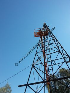 This shows the height of the tower and the reach of our boom lift from Dubbo Scissor Lifts and Booms North Western, Utility Pole, In The Heights, Westerns, Tower, Travel, Rook, Viajes, Computer Case