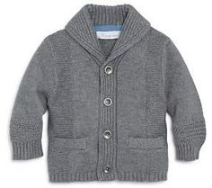 Polo Ralph Lauren Shawl-Collar Mélange Cotton And Linen-Blend Cardigan Mens Shawl Collar Sweater, Sweater Cardigan, Baby Outfits Newborn, Baby Boy Outfits, Boys Wear, Cute Outfits For Kids, Baby Sweaters, Online Clothing Stores, Men's Clothing