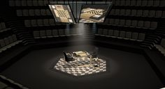 Chess Arena where Magnus Carlsen will play Vishy Anand in Sochi, Russia, for the 2014 World Chess Championship