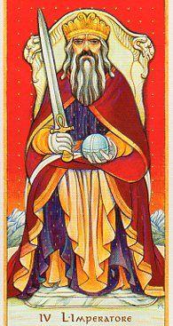 The Emperor- Daniloff Tarot