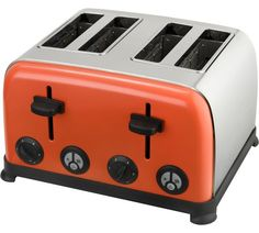 Buy Kitchen Originals Coral Crush 4 Slice Toaster at Argos.co.uk, visit Argos.co.uk to shop online for Toasters, Kitchen electricals, Home and garden