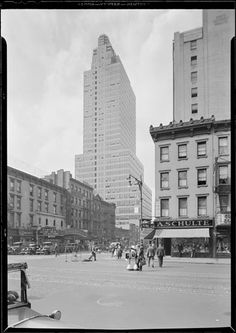 McGraw Hill Building. View From 42nd Street And Eighth Avenue. October 8, Amazing Pictures