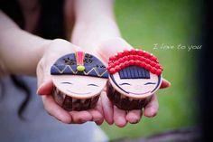 Chinese Wedding Cupcakes