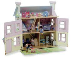 Ma maison de poupées en bois est unique ! | Loisirs créatifs, scrapbooking, décoration, obernai, strasbourg, alsace