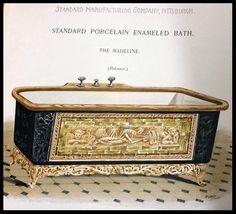 Bath tubs   victoriandepot Victorian Homes, Victorian Era, Victorian Bathtubs, Antique Bathtub, Tubs For Sale, Pedestal Tub, Copper Tub, Vintage Tub, Cast Iron Tub
