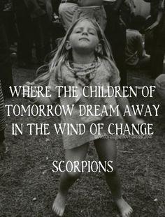 Wind of change, Scorpions