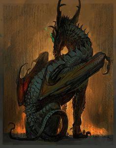 Dragon, Jaemin Kim on ArtStation at https://www.artstation.com/artwork/dragon-1c44ddf1-7c8f-41a6-ac4c-6f8cd610ab6b