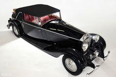 1935 Rolls-Royce Phantom II Continental Drophead Coupe