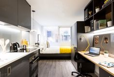 Rebrand majeur pour Uninest - Home Decora La Maison Student Room, Student House, Education Architecture, Modern Architecture, Student Accommodation London, Tv In Kitchen, Common Room, Two Bedroom Apartments, Home Studio