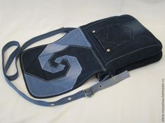 Bag of Old Jeans. Photo Sewing Tutorial.