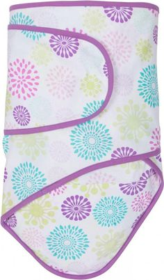 Colorful Bursts with Purple Trim