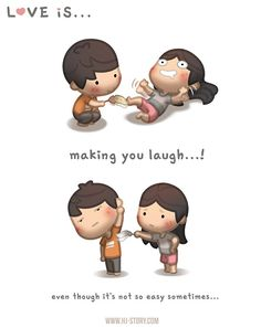 HJ-Story :: Love is... Making you laugh | Tapastic - image 1