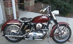 1960 Harley Davidson XLCH sportster ironhead