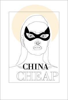 Illustration China Cheap Julia Feller Djane 2015 Music DJ