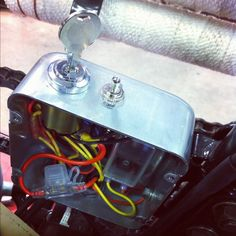 motorcycle battery box google search bikes pinterest basic motorcycle wiring diagram chopcult xs650 where are you hiding your electrics? motorcycle wiringmotorcycle artbmw scramblercb750