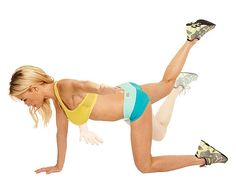 The Back-Flab Buster does exactly what it says. Hello, toned backside.
