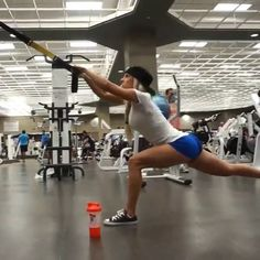 Heidi Somers TRX leg workout - 3 sets of for each exercise toward the end of my workout (after lifting heavy). 4 Week Workout Plan, Bum Workout, Weekly Workout Plans, Six Pack Abs Workout, Workout Challenge, Trx Ropes, Suspension Workout, Types Of Yoga, Muscle Fitness