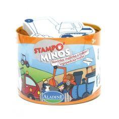 Razítka StampoMinos Stroje - dopravní prostředky