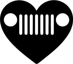 Wishing you a Happy Valentine's Day from Huffines Chrysler Jeep Dodge Ram Lewisville. Dodge Ram Logo, Jeep Dodge, Jeep 4x4, Jeep Carros, Jeep Tattoo, Jeep Shirts, Silhouette Curio, Cricut Craft Room, Chrysler Jeep
