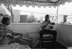 Ken Regan's '60s Celebrity Photos: Classic Looks at The Beatles, Frank Sinatra, and More | Louis Armstrong at home with wife Lucille Wilson, 1969 | EW.com