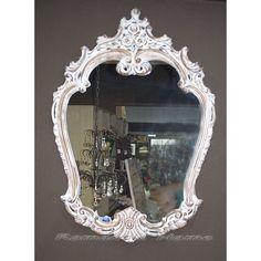 Зеркало настенное в резной раме
