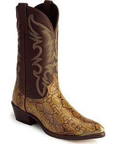 Laredo Mens 68068 Monty Western BootBrownCopper10 XW US * You can get additional details at the image link.