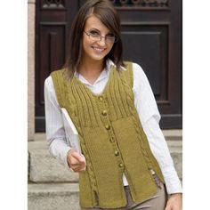 Heidi Vest from LoveKnitting