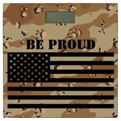 American Flag Be Proud Bathroom Scale - country gifts style diy gift ideas