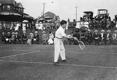 TENNIS: Thomas Clark Bundy, the 1910 national doubles champion. He married women's tennis star May Sutton.