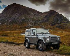 @ajbradley89 at #Glencoe, #Scotland in their #defender90 #landrover #landroverdefender #landroverphotoalbum