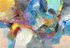 "Original art for sale at UGallery.com | No. 2 Provocation by Cheryl Johnson | $650 | mixed media artwork | 17"" h x 25"" w"