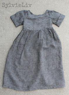 Girls dress made using free pattern!!