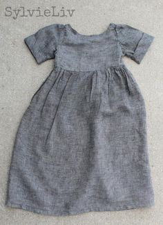 Girls dress made using free pattern!!