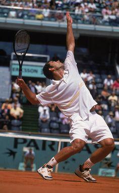Pete Sampras (USA) - 2001 Roland Garros