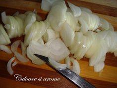 Salata de toamna (opintici, gogosari, ceapa, morcovi) – Culoare si Arome Garlic, Vegetables, Food, Salads, Veggies, Vegetable Recipes, Meals, Yemek, Eten