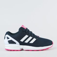 womens adidas black & white zx flux verve digital trainers nz