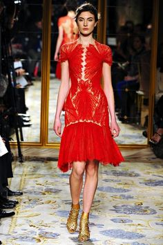 Marchesa Fall 2012 Anatomical Dresses
