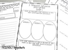 The Friendly Teacher: Writing with Mentor Texts {with a FREEBIE}