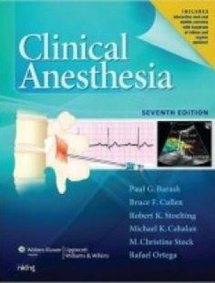 Clinical Anesthesia, 7e pdf download