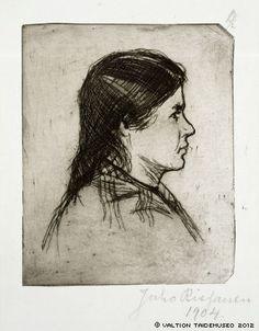 Maalaistyttö, 1904