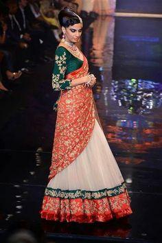 Gorgeous Lehenga by Shyamal and Bhumika  .... maybe I'd want a less heavy dupatta